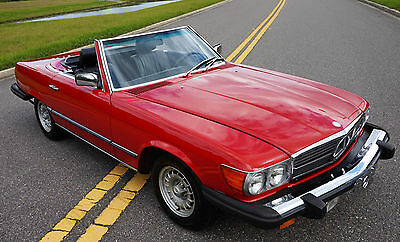 1984 Mercedes-Benz SL-Class  1984 Mercedes 380SL R107 Roadster ONE OWNER WE SHIP AND EXPORT WORLDWIDE!!!!