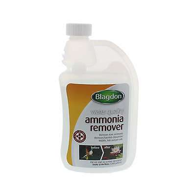 Ammonia Remover Pond Removes Toxic Ammonia and Harmful Chloramine 500ml Blagdon