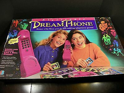 Vintage Electronic Dream Phone by Milton Bradley *Works!*