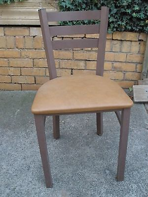 Cafe - Subway Restaurant - Reception Chairs - Metal Frame - Used - VG condition