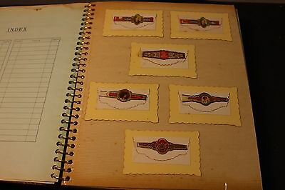 Antique  TOBACCO, CIGAR paper rings ring lot (sold as is)