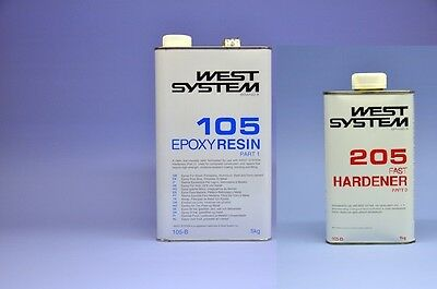 WEST SYSTEM A-Pack 1,2 kg Epoxy 105