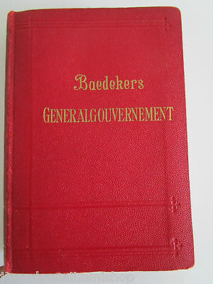 Baedekers GENERALGOUVERNEMENT Reisenhandbuch 1943 Travel Guide 26 photos below