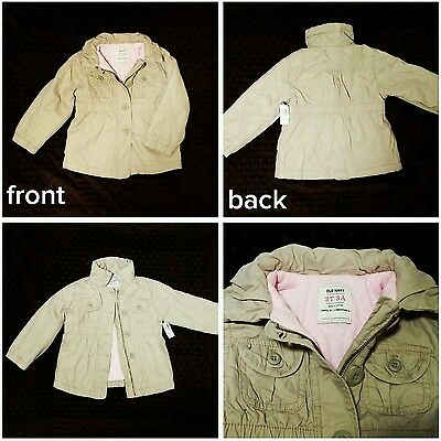 On Sale! Very cute baby toddler girl SPRING jacket 3T brand new by Old Navy