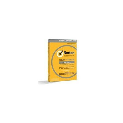 NORTON SECURITY 2016 PREMIUM (10 appareils / 1 an)