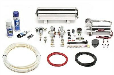 Airride Air Suspension Fan Zeugungs Kit Compressor 444 Chrome Tank 11,5L Lfkit14