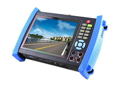 7 inch HD SDI CCTV Tester with IP address search - HVT-1600MTS Tester PRO
