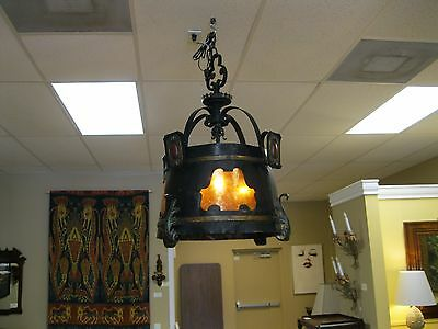 Late 19 th. c.  Continental (probably Dutch) antique chandelier