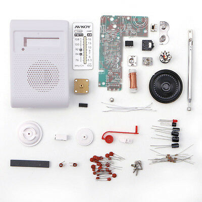 AM/FM Stereo Radio Kit DIY CF210SP Electronic Assemble Set Kit For Learner