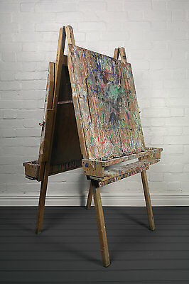 Artists Easel Paint Stand