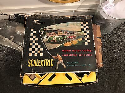 VINTAGE 1960S TRIANG   Cm3 C M 3 SCALEXTRIC. BOXED.  Track