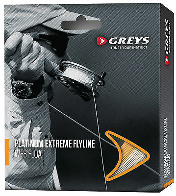 Greys Platinum Extreme Fly Line - Floating / Intermediate / Sinking