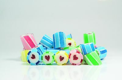 1kg Rock Candy - Assorted Heart Mix Wedding favours
