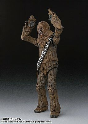 BANDAI S.H.Figuarts Chewbacca (A NEW HOPE)Action Figure Star Wars
