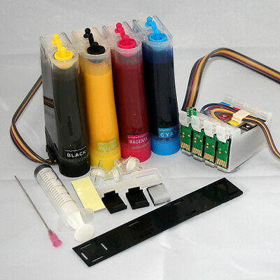 Non-oem SUBLIMATION CISS Ink System for with Epson WF-7110DTW 27XL