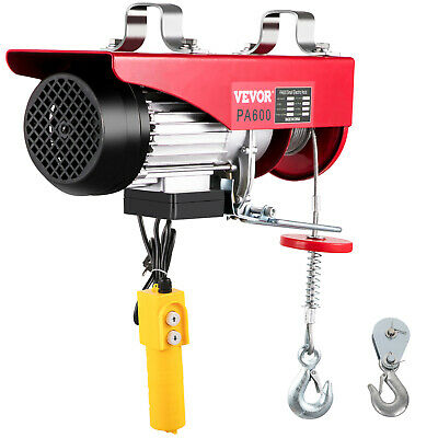 Warrior Power Products 600kg 240v Electric Hoist with Air Socket