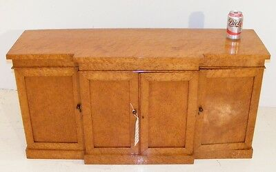 Good Quality Antique Birchwood Counter Top Chemists Cabinet