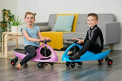 Girl Boy Swing Wiggle Car Ride On Twist Go Kids Child Scooter No Pedals Plasma