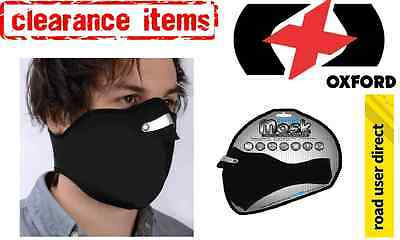 Oxford Neoprene Motorcycle Face Mask- Inc Tracked Delivery