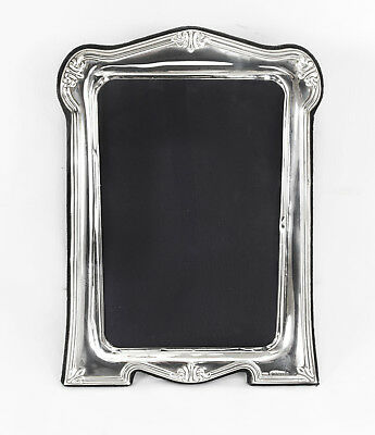 Vintage Elegant Medium Stering Silver Photo Frame