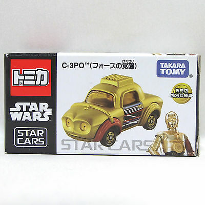 "TAKARA TOMY TOMICA STAR WARS Cars "" C-3PO (The force awakens) "" Minicar Japan"