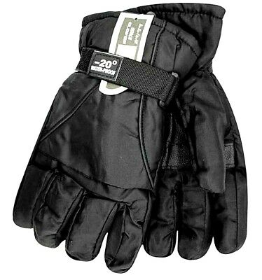 -20C Mens Thermal Ski Snowboard Gloves Insulated Waterproof Winter Sports Snow