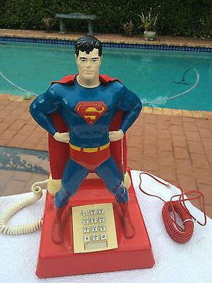 1978 Microcommunications Superman Phone Model #41-85  - Extremely Rare