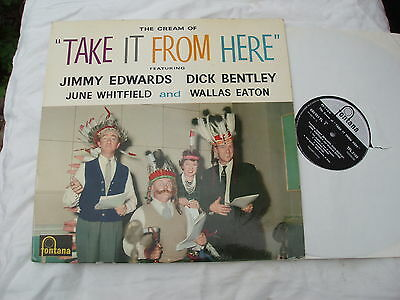 TAKE IT FROM HERE CREAM OF LP Dick Bentley.Fontana BBC COMEDY.1960.The Glums