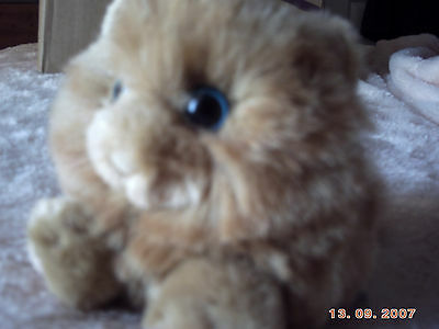 Soft small toy cat, MJC 1994 Swibco
