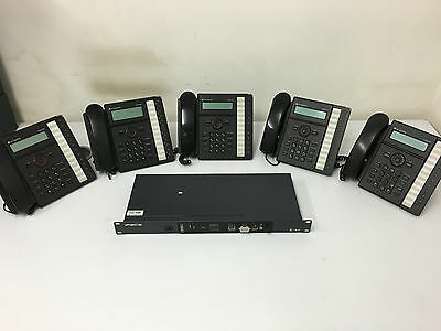 LG Ericsson iPECS 50B IP Phone System With 6 Handsets