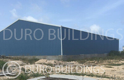 DuroBeam Steel 80x150x26x39 Center Ht Metal Clear Span Building Structure DiRECT