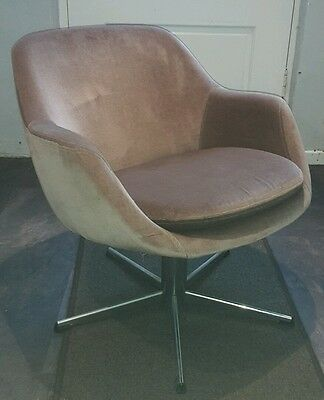 Mini Retro Egg Bucket Chair Mid Century Vintage