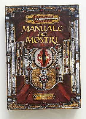 ★ Buono Stato Ita ★ Manuale Dei Mostri 3 Iii ★ 3.5 D&d Dungeons And & Dragons
