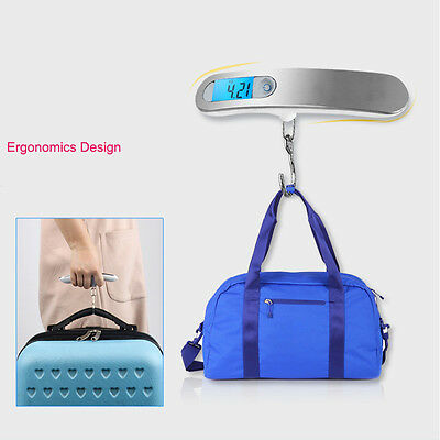 Portable LCD High Accuracy Digital Hanging Luggage Scale Electronic For Travel