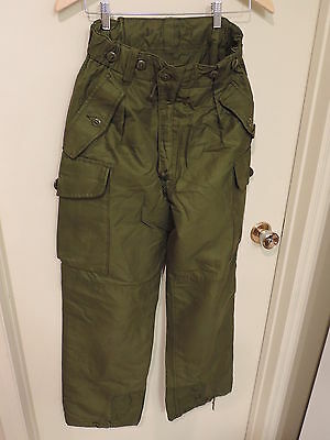 Canadian Forces Trousers Combat Pants Winter Cold Green 7330
