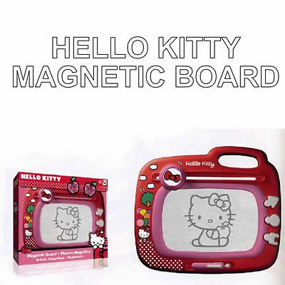 Draw and Erase FOREVER! Hello Kitty Childrens Magnetic Drawing Board Infinitely