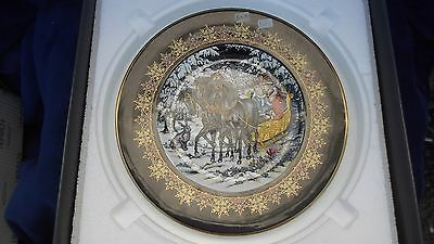 VILLEROY & BOCH, HEINRICH PORCELAIN PLATE MAGICAL FAIRY TALES OF OLD RUSSIA no2