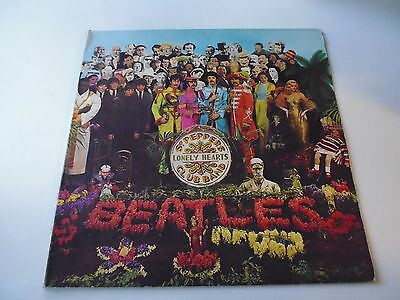 Lp The Beatles Sgt.peppers Lonely Hearts Club Band - Parlophon Pmcq 31512-Italy