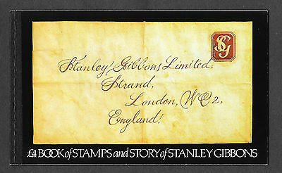 1982 Great Britain  Prestige Stamp Booklet Dx3 Story Of Stanley Gibbons