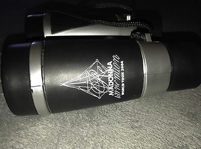 MADONNA RE-INVENTION TOUR PROMO BINOCULARS Never Used Official Tour Item