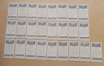 cigarette cards WILLS FAMOUS INVENTIONS FULL SET