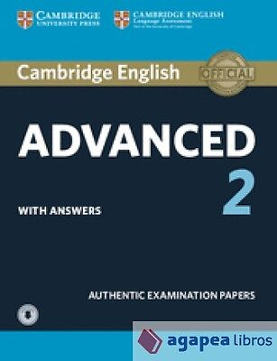 Cambridge .certif. advanced 2 st pack with key 15. LIBRO NUEVO