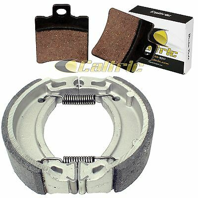 Front Brake Pads & Rear Brake Shoes Fit Yamaha Zuma Ii 50 Cw50 Cw 50 1999-2001