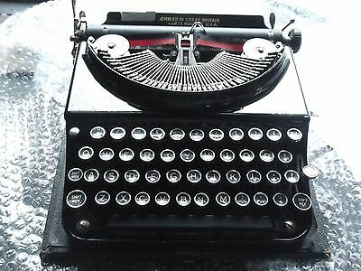 Portable Typewriter  Smith Premier,  Model Chum, Serviced New Ribbon Fitted.