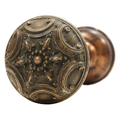 "Elegant Antique Cast Bronze ""Norma"" Door Knob Set by Penn Hardware, NDK141 • CAD $120.16"