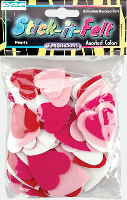 Feltables Shapes Hearts 68/Pkg FSSIF-02