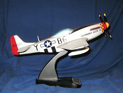 Toys and Models Corporation Chuck Yeager Glamorous Glen III Mustang P-51D