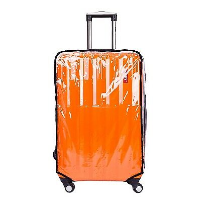 """BlueCosto PVC Clear Travel Luggage Protector Suitcase Covers 22"""""""