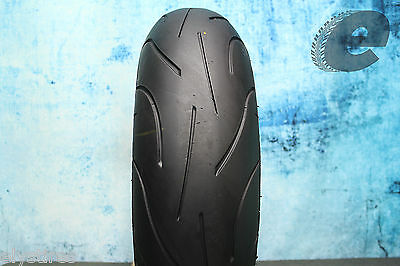 Great Used 190/55ZR17 Michelin Pilot Power 190/55/17 Motorcycle Tire 1914 982498