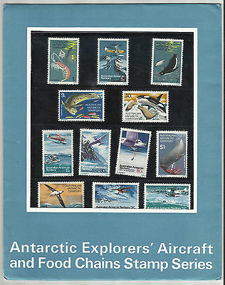 Australian Antarctic Territory - Set of 12 stamps in sealed pack - 1973 - MNH